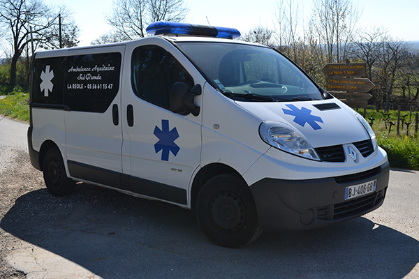 Ambulances Aquitaine Sud Gironde